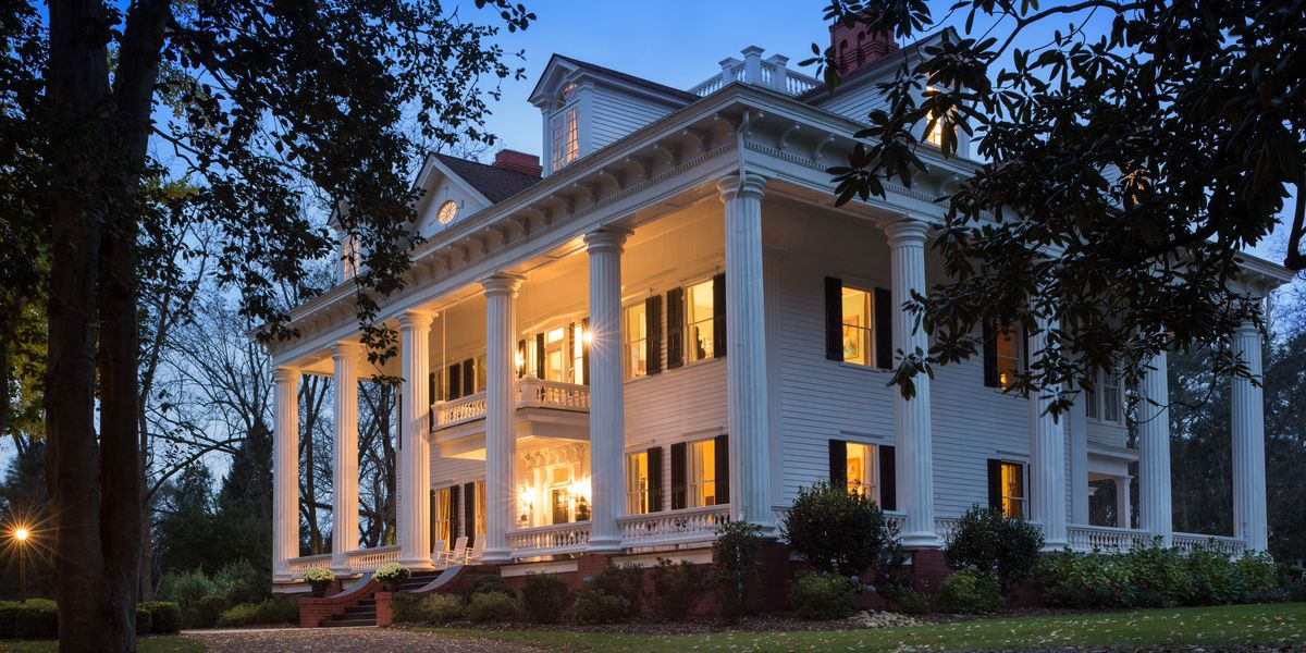 'Gone with the Wind' mansion for sale in Georgia