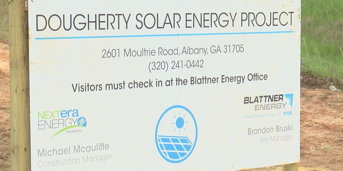 Solar farm to help with Dougherty Co. tax digest
