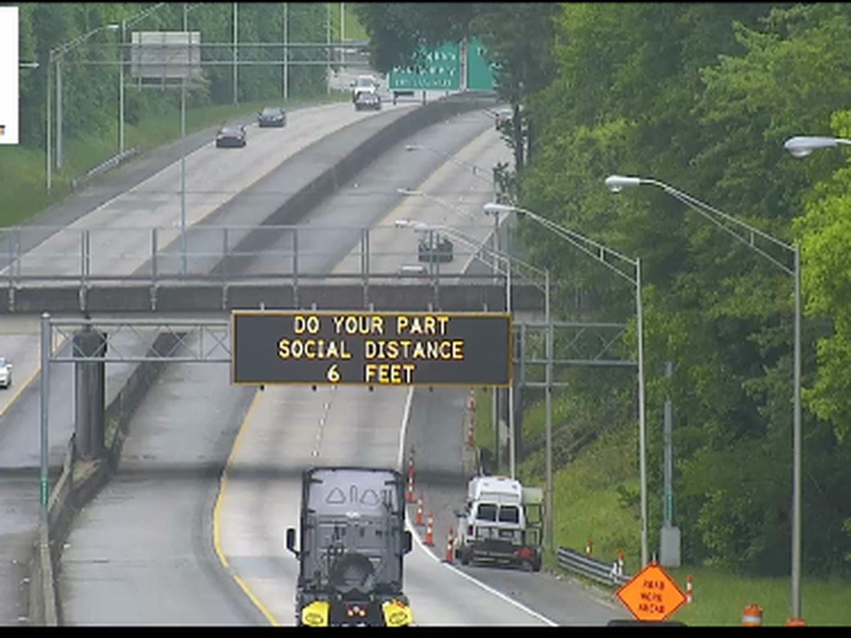 GDOT debuts new road signs amid pandemic for Memorial Day holiday weekend