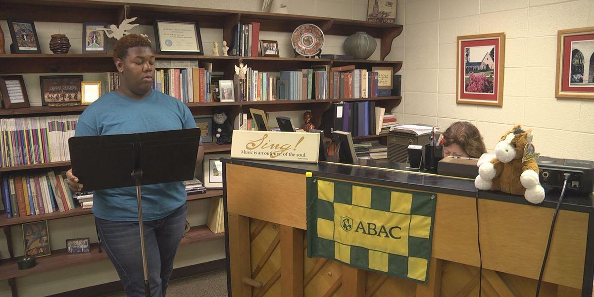 ABAC Choir prepares for Braves Performance