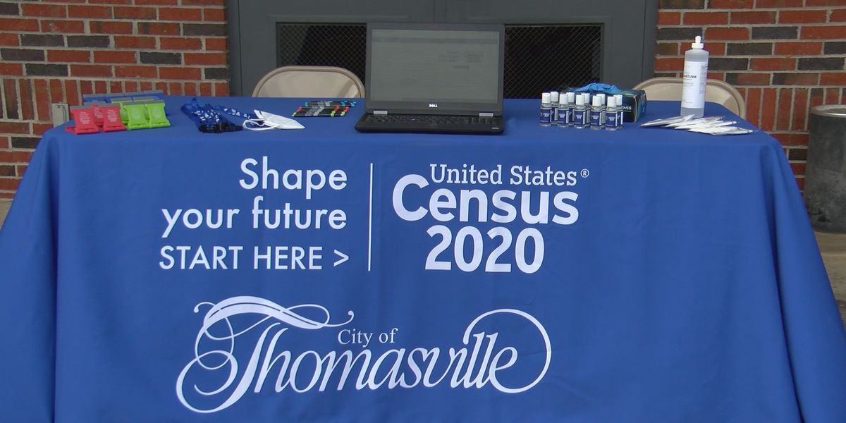 Thomasville holds 2020 Census 'Be Counted' tour