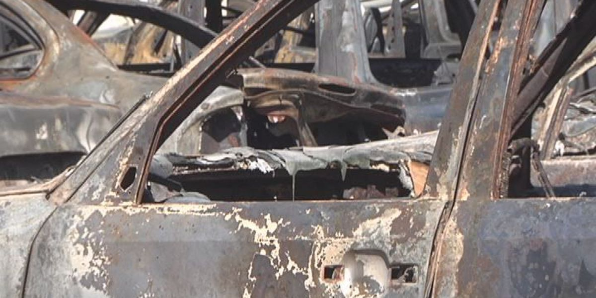 Questions remain after scrap yard fire
