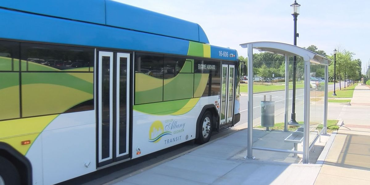 More new modern bus shelters in Albany