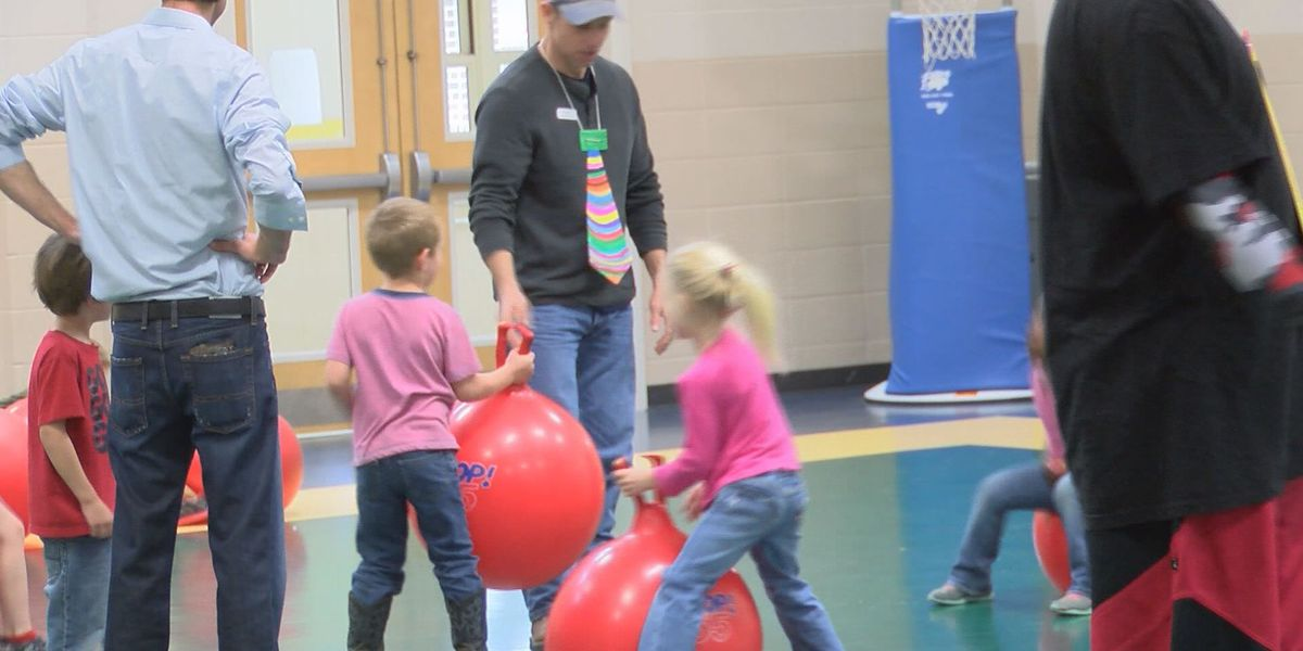 Thomas Co. school hosts fit fathers week