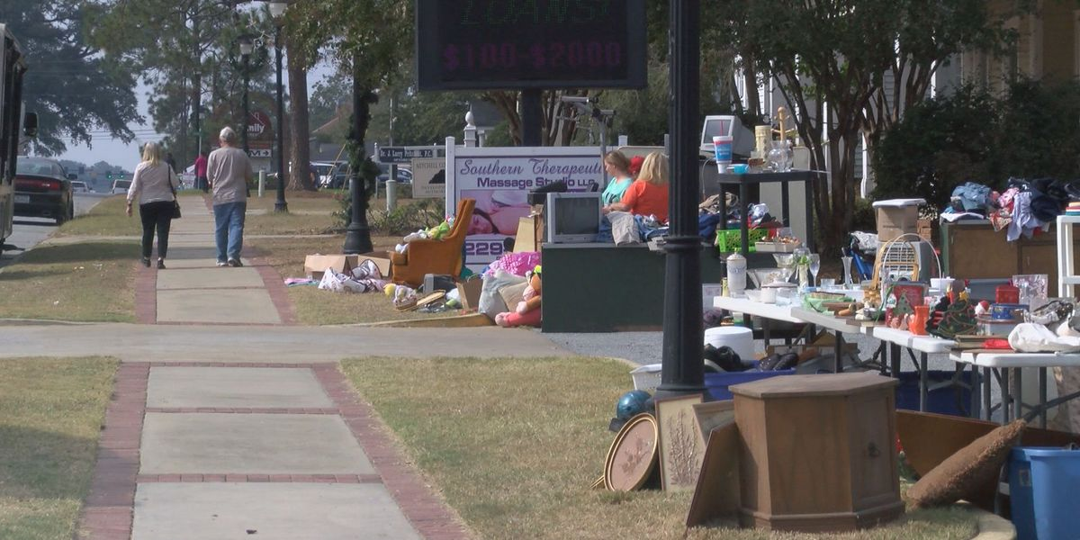 High Cotton Yard Sale spans over 65 miles