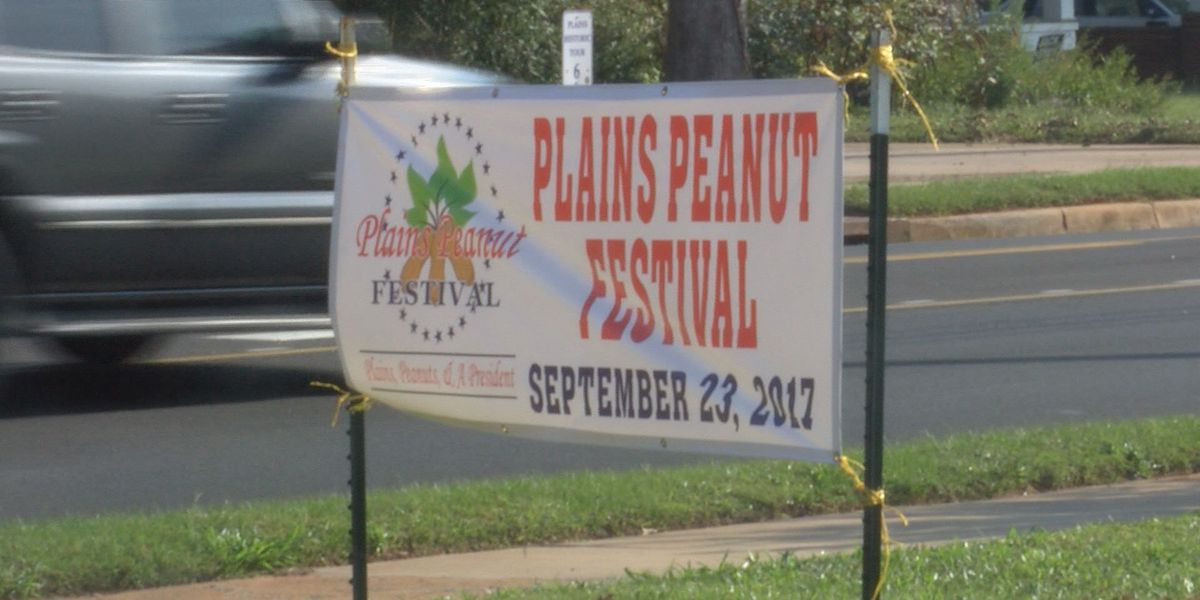 Thousands expected to attend Plains Peanut Festival