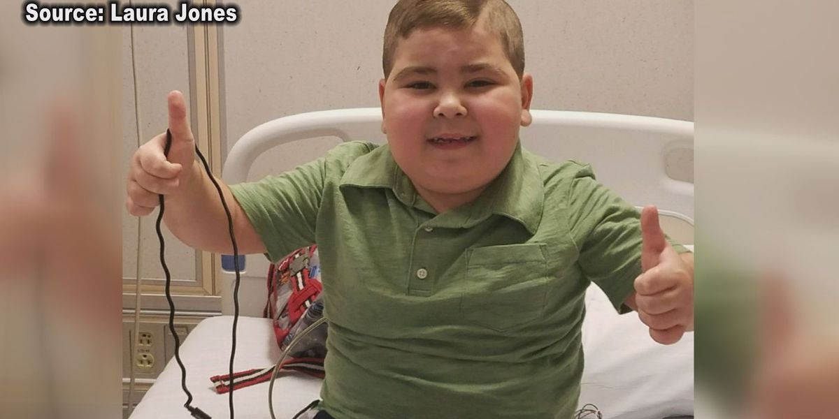 'I really did have a sense of peace about the procedure itself and his surgeon': Lee Co. 8-year-old gets life-saving heart transplant