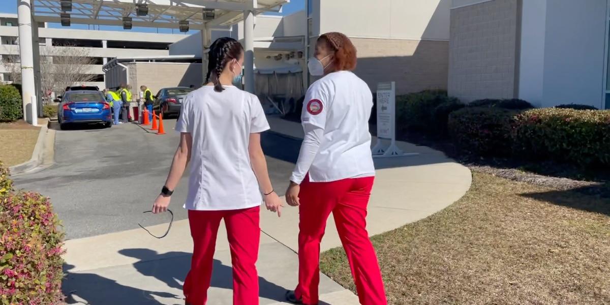 VSU nursing students balance school, work amid pandemic