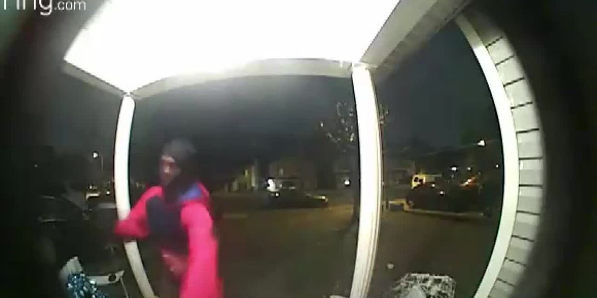 Chilling Ring video shows break-in attempt moments after woman walks into home