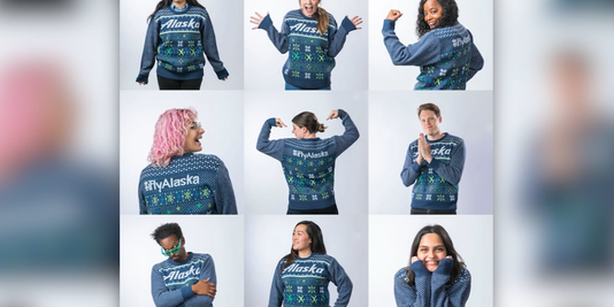 Alaska Air offers annual ugly holiday sweater special