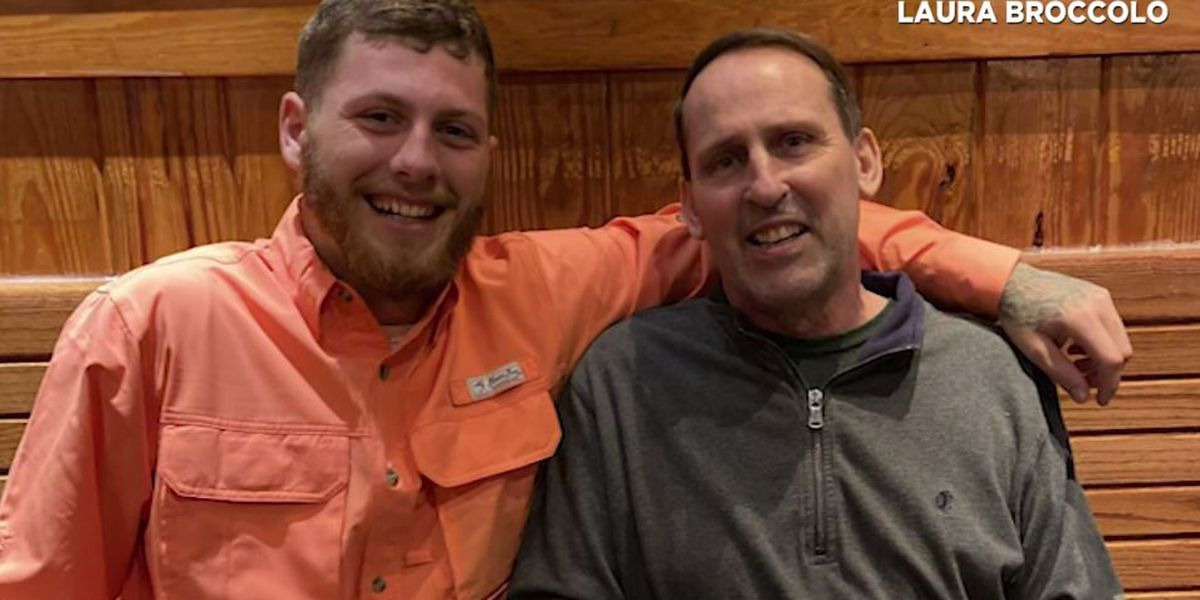 Retired firefighter reunites with stranger who saved him from fiery crash