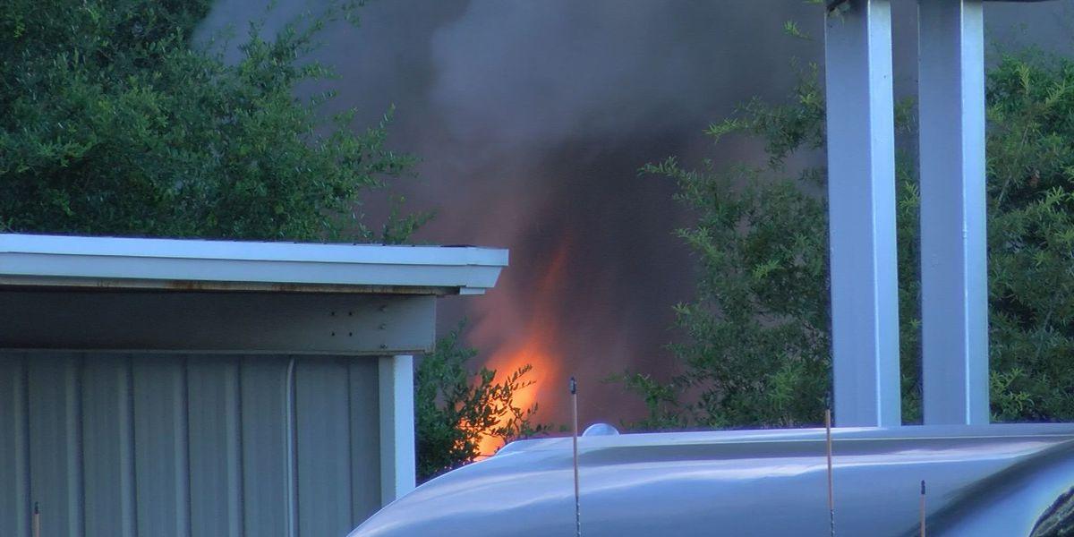 Railroad ties set on fire, Albany crews respond