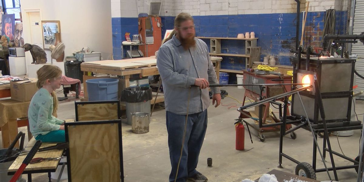 Glass blowing among the events at the Americus Center for the Arts this week