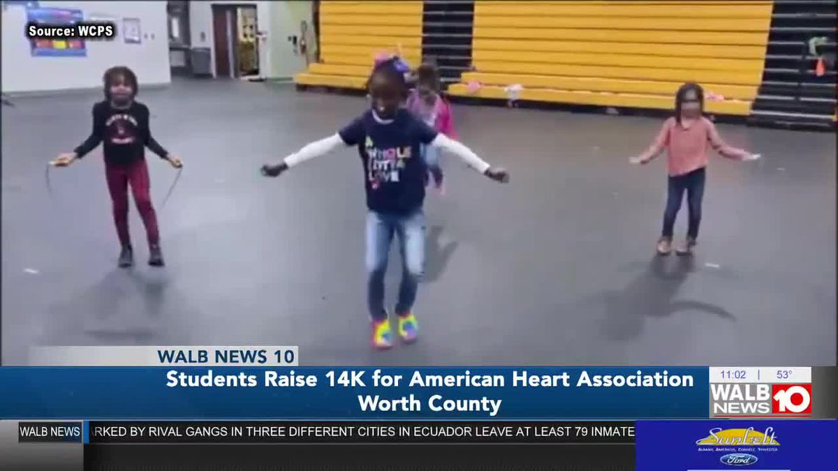 Around $14K raised for AHA by Worth Co. Primary School