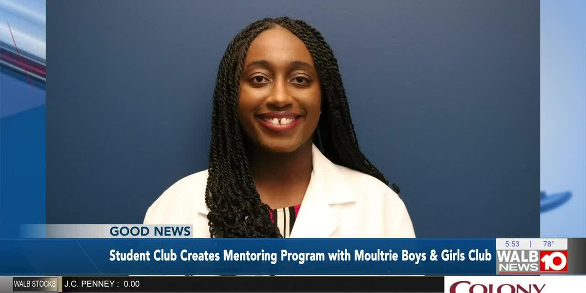 Good News: PCOM student club starts mentoring program with Moultrie Boys and Girls Club