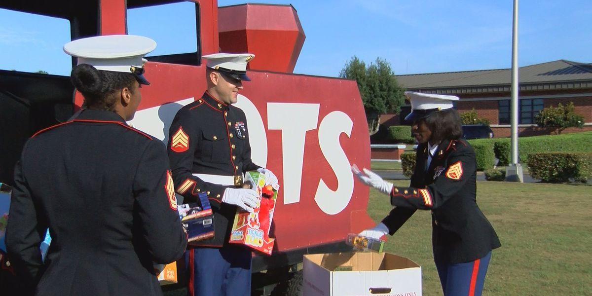 Toys for Tots kicks off 71st annual campaign in partnership with MCLB