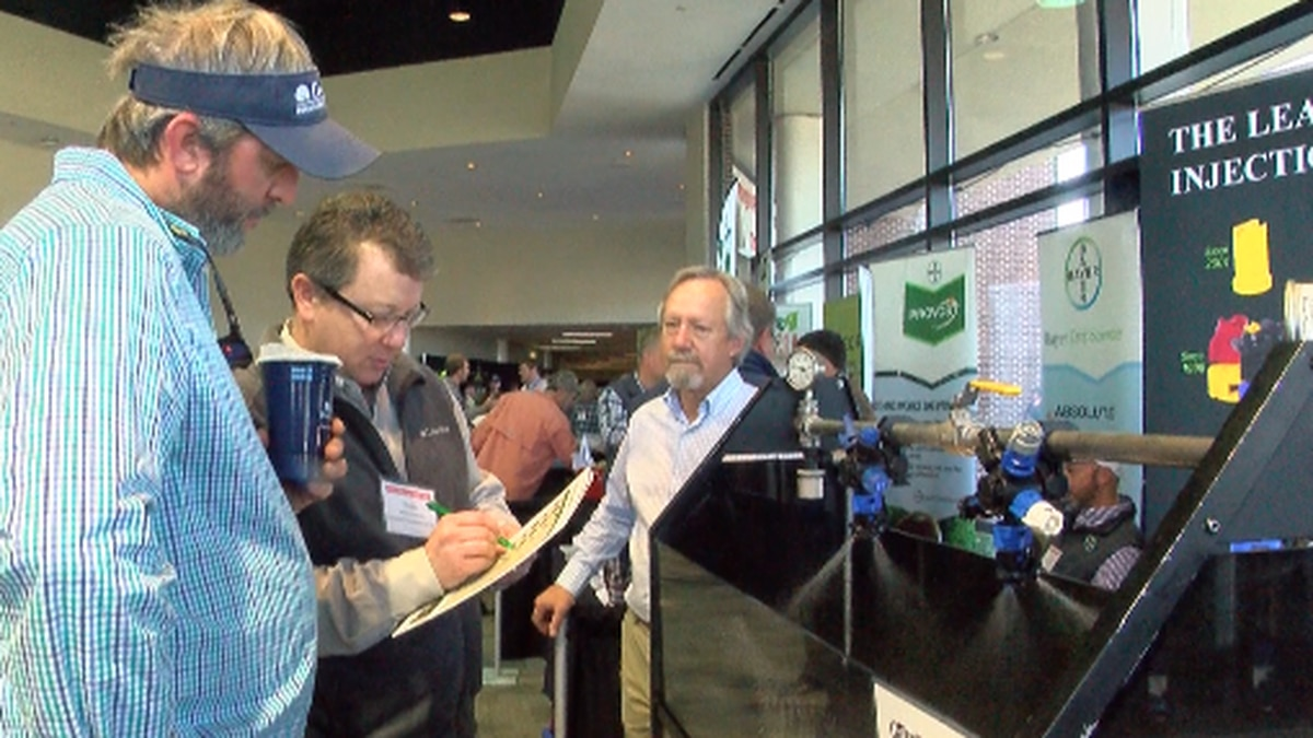 Farmers go to GA Peanut Show after the House passes assistance bill in Washington