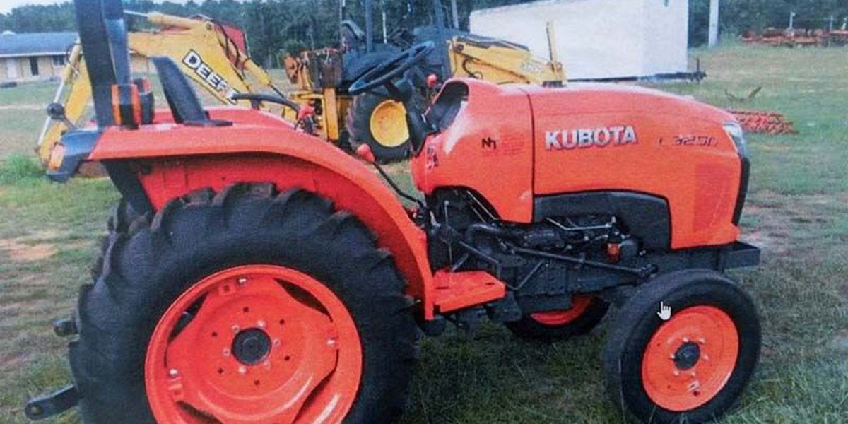 Owner offers rifle for info on stolen tractor