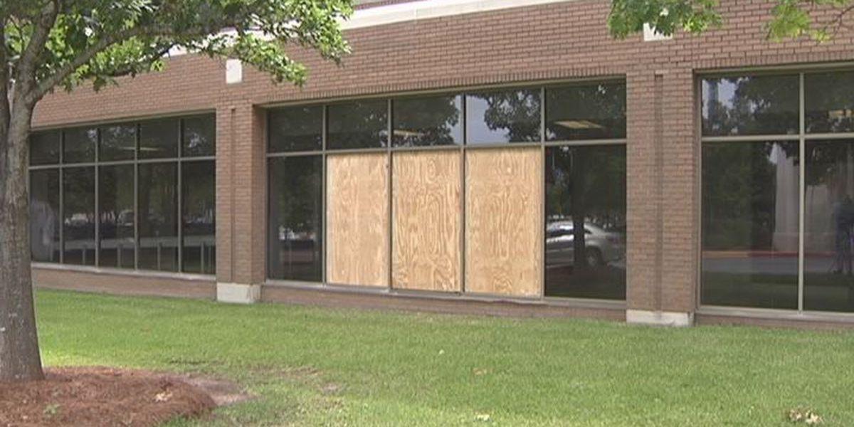 Bricks thrown through Phoebe hospital windows