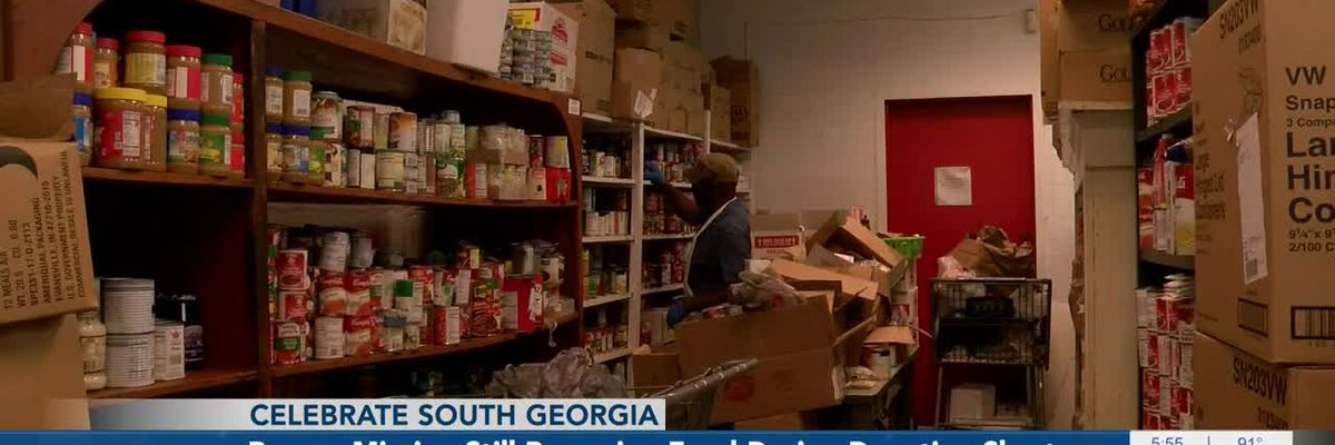 Rescue Mission still preparing food during donation shortages