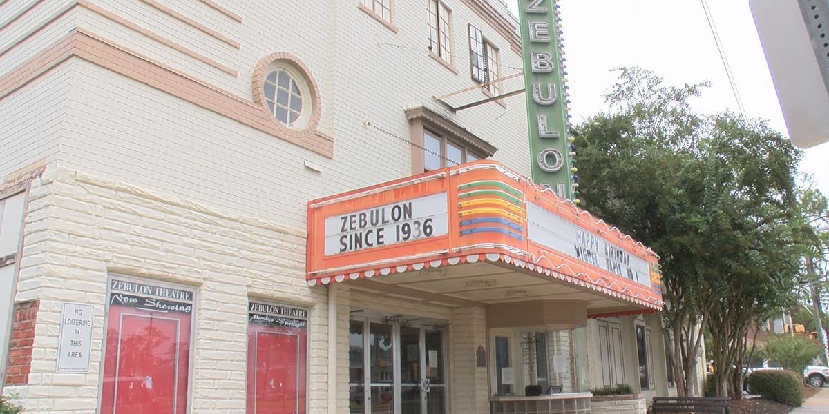 Zebulon Theater, oldest single-screen theater in Georgia, gets historic marker