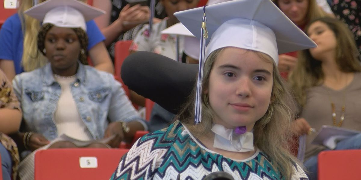 South GA car wreck survivor graduates high school after years of obstacles