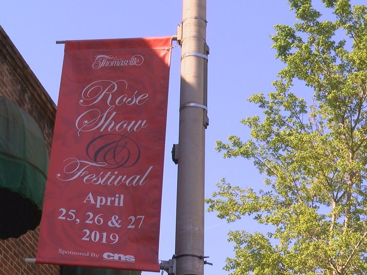 Roses in Restaurants now part of Thomasville Rose Show and Festival