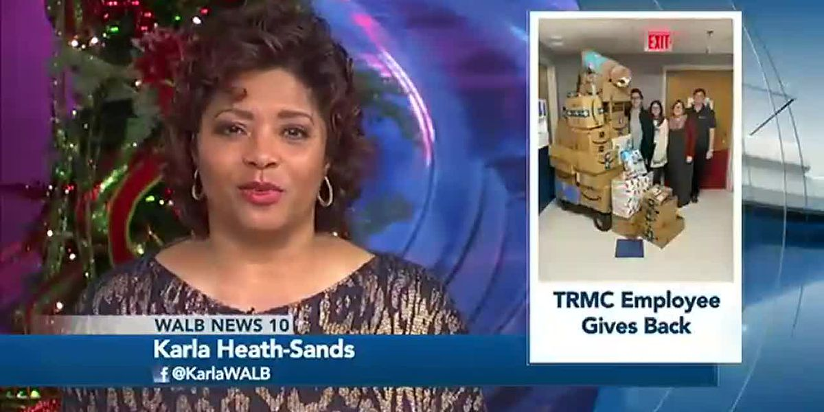 Good News: Tift Regional employee donates gifts to patients
