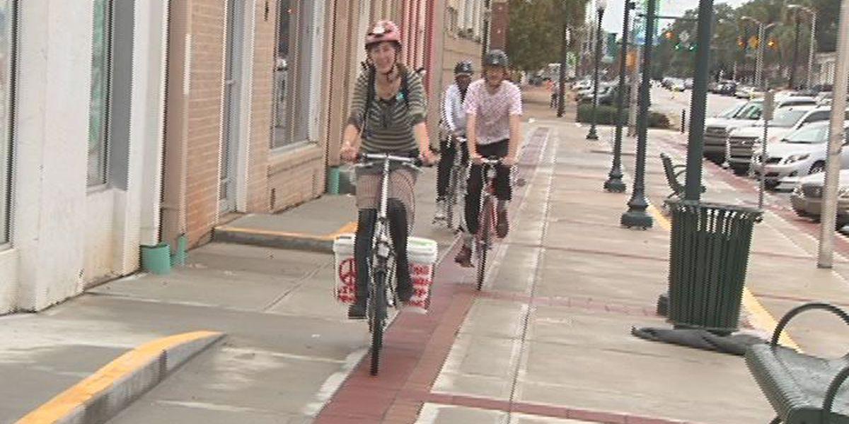 Bike riders focus on GA environment