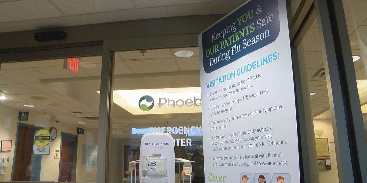 Phoebe: Flu season hasn't peaked yet