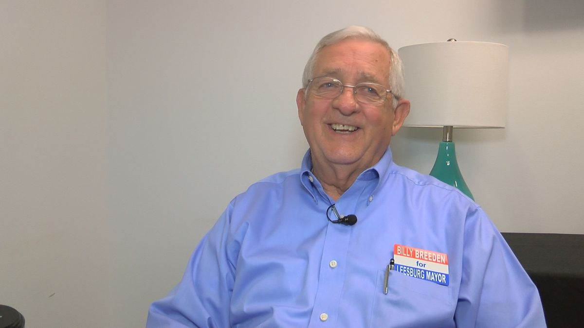 Former Leesburg councilman 1 of 2 candidates vying for mayor's seat
