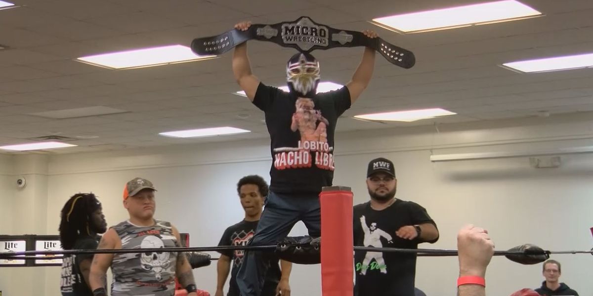 The Micro Wrestling Federation brings its tour to the Good Life City