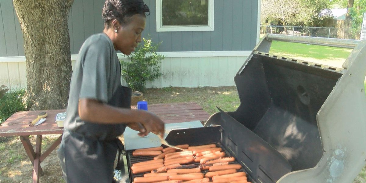Backing the Blue with hot dogs and tradition