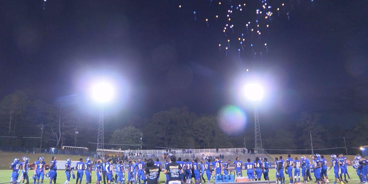 Americus-Sumter High football team honors fallen player