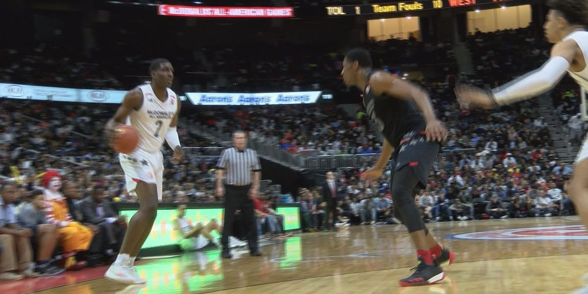 Perry caps historic year with McDonald's All-American win