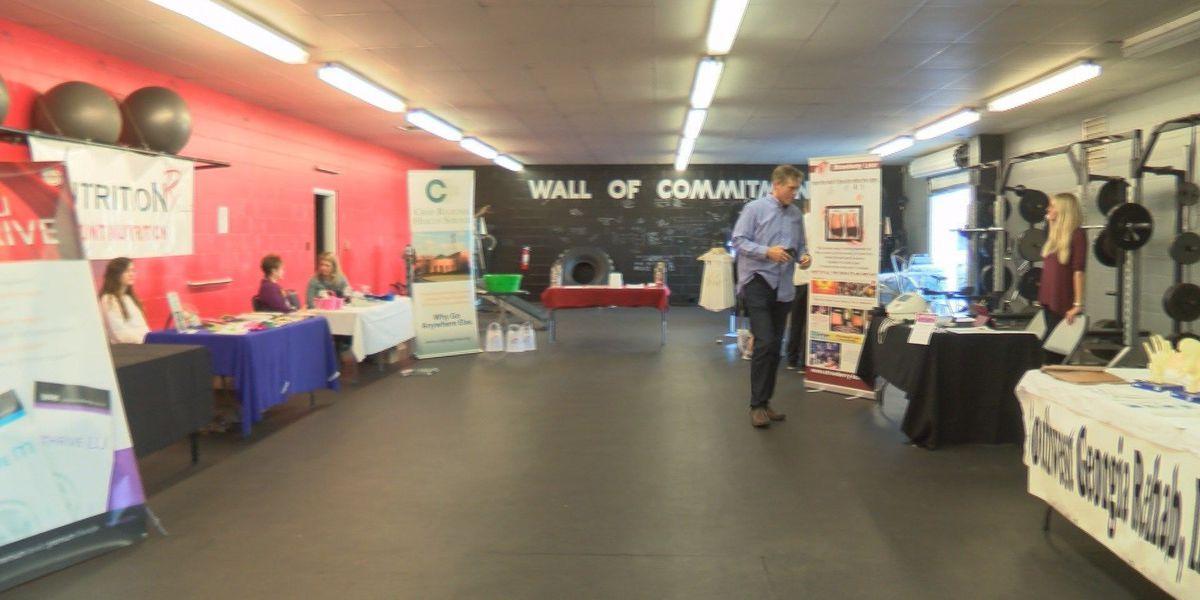 Cordele gym hosts health & wellness fair
