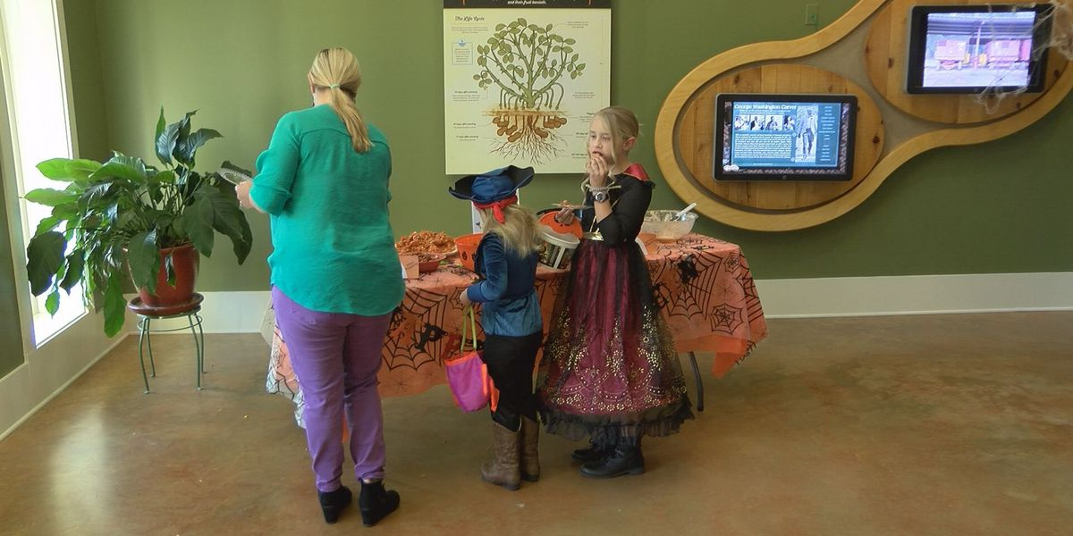 Group promotes nutty Halloween treats