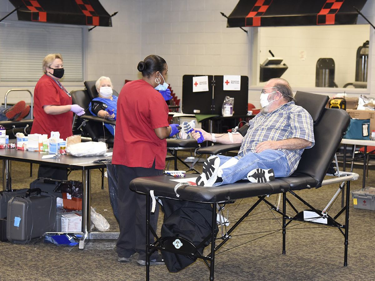 Americus college hosts blood drive
