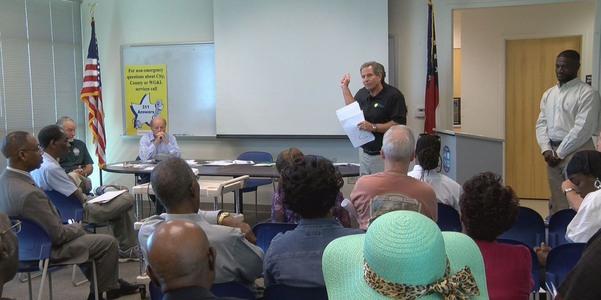 Community discusses SPLOST at town hall meeting