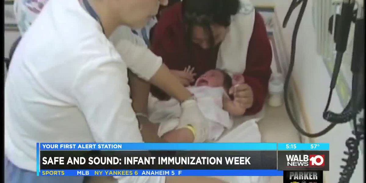 Safe and Sound: National Infant Immunization Week