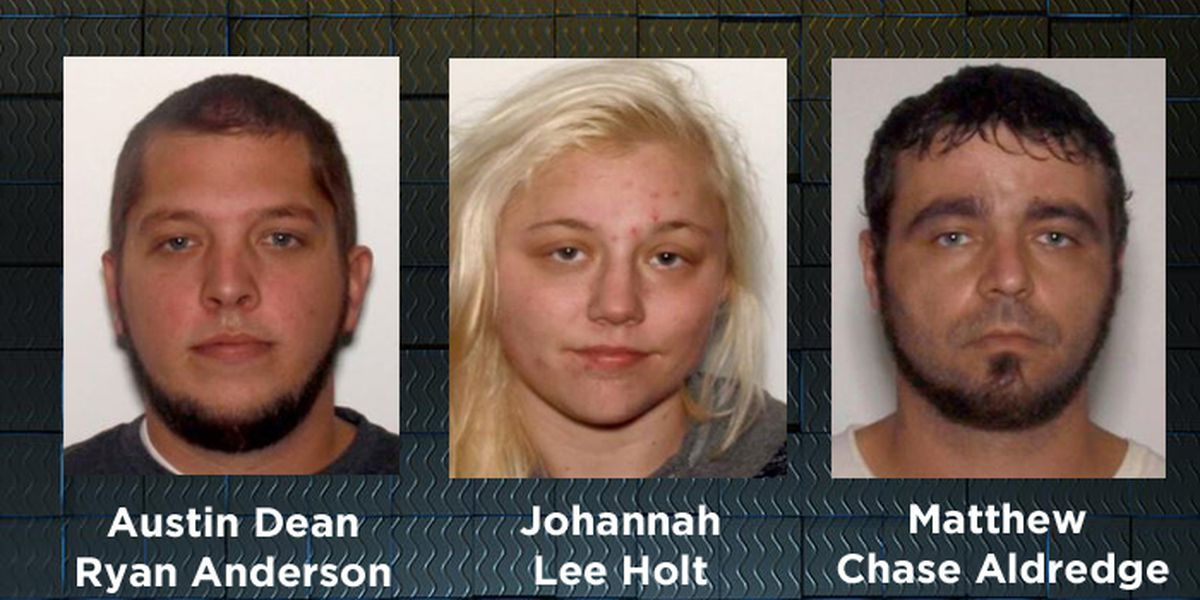3 arrested after stolen Thomas Co. SUV found in Mitchell Co.