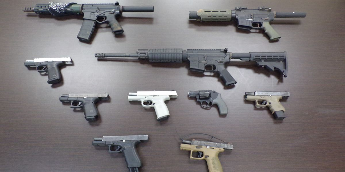 Americus PD recovers slew of firearms, some reported stolen