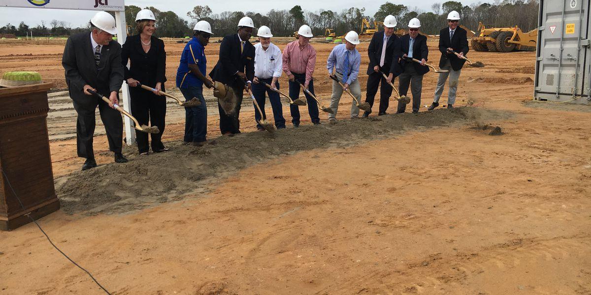 Groundbreaking held for new Crisp County Middle School