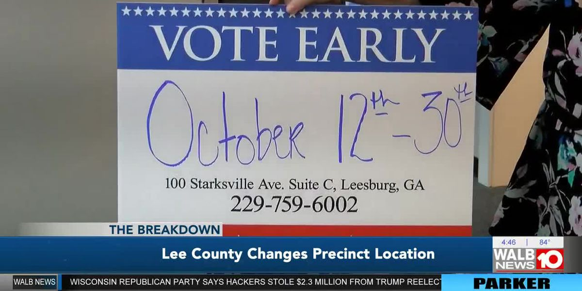 The Breakdown: Talking the change behind a Lee Co. voting precinct locale