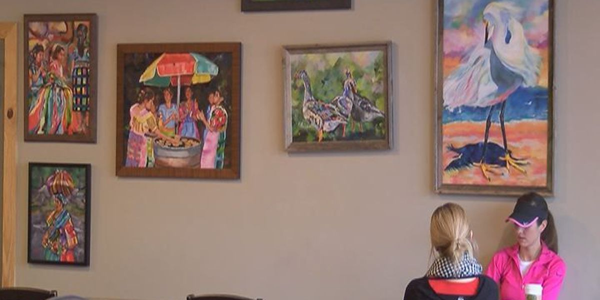New art exhibition displayed at Grassroots Coffee