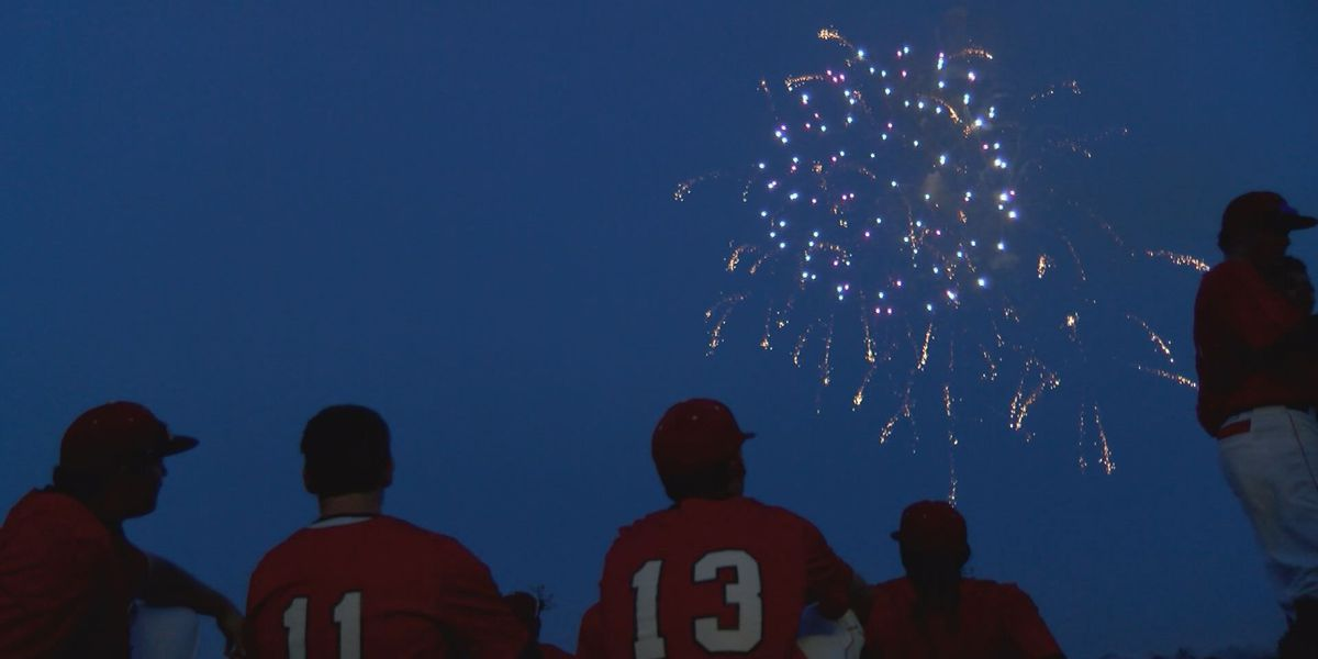 Darton lights up the scoreboard, then the sky