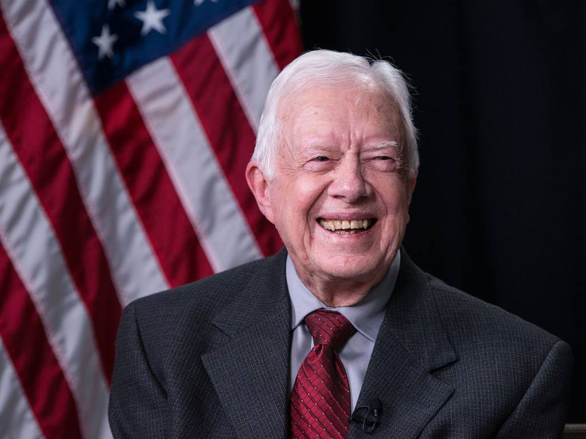 President Jimmy Carter hospitalized in Atlanta