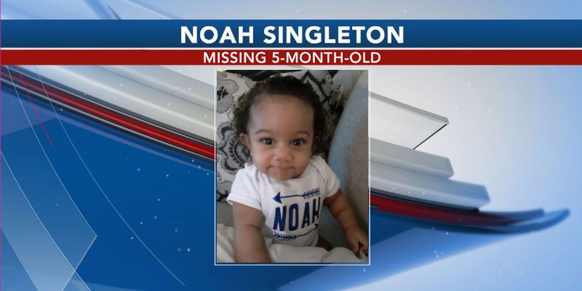 Ga. 5-month-old in Amber Alert found safe; suspect still sought
