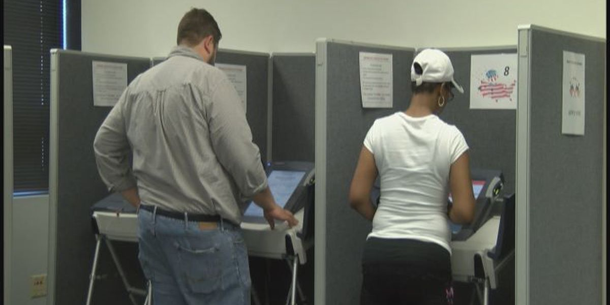 Early voting turnout is busy