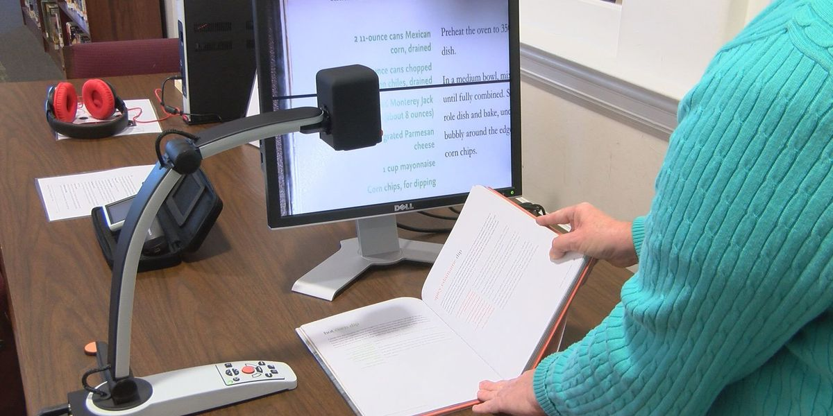 New library technology aims to help the blind